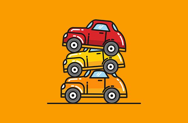 Depozitare vehicule avariate